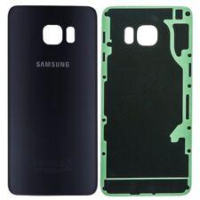 Vitre Arriere Samsung Galaxy S 6 + Cache Lentille - Bleu - Adhesif Inclus