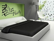 Music Notes on a bar  vinyl wall decal