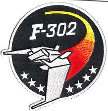 Stargate SG-1 F-302 Fighter Logo patch Uniform Aufnäher zum aufbügeln