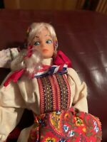 "Vintage Costume Doll  11""   Barbie  Clone K2"