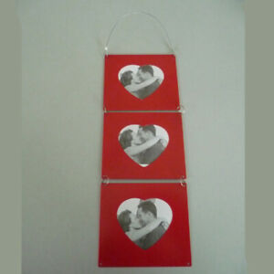 Photo Holder Conductor Heart Red Wedding Valentine's Christening Delivery 49cm