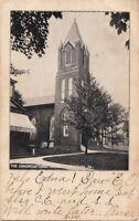 Postcard Congregational Church Ebensburg PA