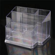 Clear Acrylic Makeup Cosmetic Organizer Brush Display Holder Jewelry Storage Box
