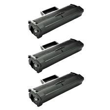 3PK Black MLT-D101S Toner Cartridge for Samsung ML-2166W 2168 SCX-3400 SCX-3401
