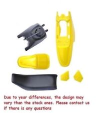 YELLOW PLASTIC SET GAS TANK SEAT FOR PW50 YZinger PY50 M PS33