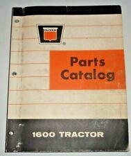 Oliver Dealers 1600 Tractor Parts Catalog Manual Book Original Gas Diesel Amp Lp
