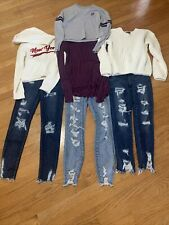 Misc Lot Of Junior Girls Womens American Eagle Forever 21 Aeropostale Clothes