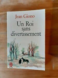Jean Giono - Un Roi sans divertissement - Le Livre de Poche (1970)
