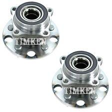 Pair Set 2 Rear Timken Wheel Bearing & Hub Kits for Lexus GS350 IS250 IS350 AWD