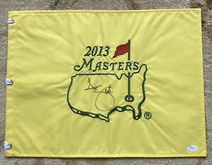Adam Scott Signed Masters Flag 2013 James Spence JSA Certificate of Authenticity