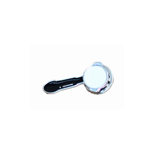 New Black White Barista Italy Coffee Geek Portafilter Espresso Pin Brooch Badge