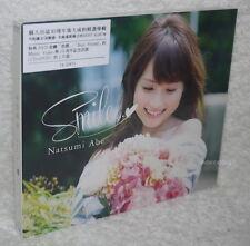 Natsumi Abe Smile 2014 Taiwan CD+DVD