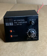 RAMA VINTAGE RF CONTROL PRE AMPLIFIER - MODEL RP 20