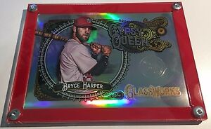 Topps Gypsy Queen Glassworks Box Topper Acrylic Display Holder Case.