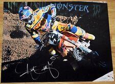 "RYAN DUNGEY #1 Signed 11x14"" Fox KTM Photo #8 - 4x SX Champion MX"