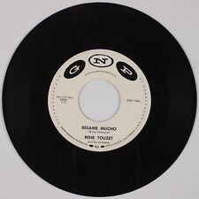 "RENE TOUZET: Besame Mucho / 's Wonderful GNP Latin Rare 7"" 45"