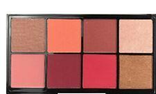 Technic 8 Colour Blush & Highlight Palette- Jungle Fever- Matte & Shimmer