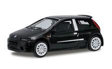 BLACK  2003 FIAT PUNTO RICKO 1:87 MINIATURE Car HO Scale