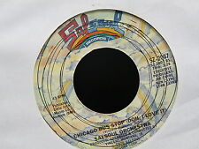 SALSOUL ORCHESTRA Chicago bus stop / you re just the right size SALSOUL SZ 2007