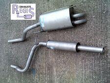 SEAT INCA VW CADDY 1.9SDi 96-03 EXHAUST SYSTEM ( CENTRE & REAR ) SE085E SE86D