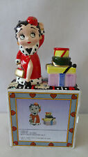 Betty Boop 1995 King Feature Syndicate Christmas Salt & Pepper Shakers MIB #A630