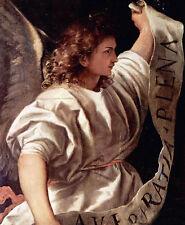Dream-art Oil Tiziano Vecellio - Polyptych of the Resurrection Archangel Gabriel