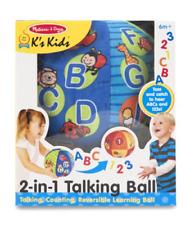 Melissa & Doug MD9181 2-in-1 Talking Ball