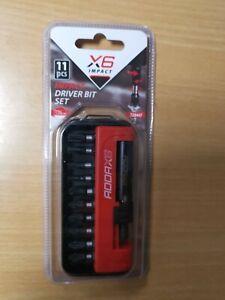ADDAX DRIVER BIT SET 11Pcs