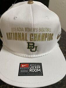 Baylor Bears Nike 2019 NCAA Women's Basketball National Championship Hat (NEW)