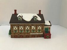Dept 56~New England Village ~�Stony Brook Town Hall�~Euc~In original box