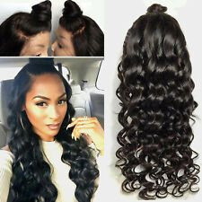 Heat Resistant Lace Front Synthetic Hair Wigs For Women Long Curly Black Bun Wig