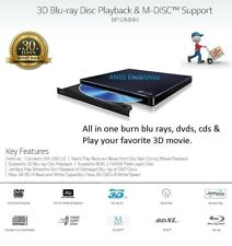 LG 3D Player ( 6x Blu-ray/ 8x DVD/ 24x CD Burner Writer) Slim External Drive NEW