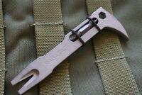NAGATAC Tactical Pocket Mini Pry Bar EDC Breaching Multi Tool Nail Puller