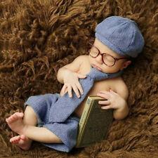 Newborn Baby Photography Props Boy Gentleman Set Costume Clothing Studio Shoot
