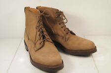 Holland & Holland Tan Nubuck Sporting / Safari Ankle Boots UK 6.5 C / US 9 C