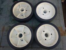 """Set of 4 Mountfield 6.5"""" (165mm) Lawnmower Wheels"""