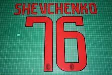 AC Milan 08/09 #76 SHEVCHENKO Awaykit Nameset Printing