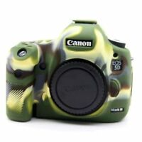 Silicone Body Bag Cover Case Skin For Canon EOS 5D Mark III 5D3/5DS Camouflage