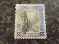 BAHAMAS POSTAGE STAMP SG60 TWO SHILLINGS FINE-USED