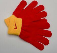 Nike Tricot Gants Enfants Rouge / Orange Jeunes Enfants S/M