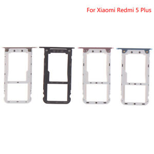 For Xiaomi Redmi 5Plus SIM Card Tray Socket Slot Adapters Replacement  JyL Fs