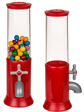 Candy Dispenser Small Sweets Candies Jelly Beans Storage Jar Machine Kids Toy UK
