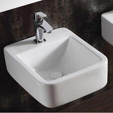 Keramik Wand Hänge Waschtisch Waschbecken Handwaschbecken zur Wandmontage 40261