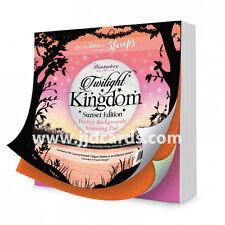 Hunkydory-Crepúsculo Reino-Sunset edición perfecta fondos Stamping Pad