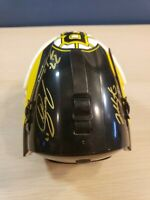 Autographed Boston Bruins Goalie Mask Helmet Jonathan Sigalet plus 2 Signatures