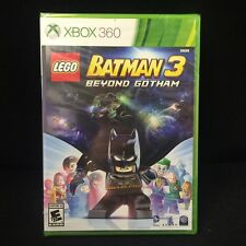 LEGO Batman 3: Beyond Gotham  (Xbox 360, 2014) Brand New / Factory Sealed