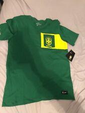 Men's Nike CBF Brasil/Brazil Green T-shirt 832654 302 Soccer/football Sz M