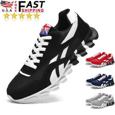 New listing Men's Casual Athletic Shoes Lightweight Sports Trainers Running Tennis Sneakers