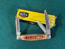 Buck #371 Stockman Pattern Folding Pocket Knife, 2017
