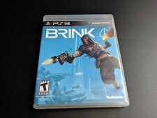 Brink Playstation 3 PS3 LN condition COMPLETE w DLC!